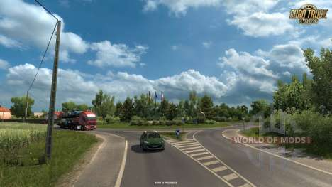 New screenshots of Vive La France DLC for Euro Truck Simulator 2