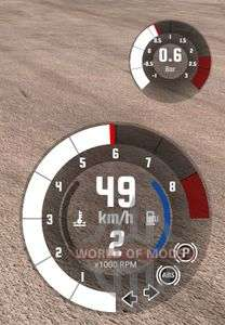 turbocharger boost Sensor in BeamNG Drive