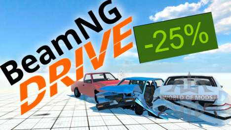 25% discount on BeamNG Drive on Steam