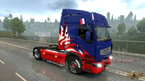 French flag for Euro Truck Simulator 2