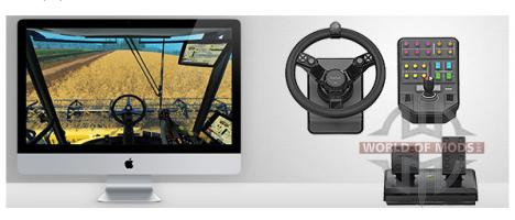 Saitek Wheel for Farming Simulator 2015 Farming Simulator is fully compatible with Mac OS X!