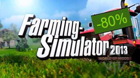 80% Discount on Farming Simulator 2013