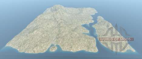 The entire Italy map for BeamNG Drive