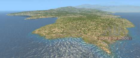 The Italy map for BeamNG Drive