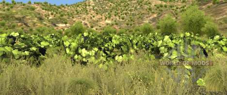 Vegetation on the Italy map for BeamNG Drive