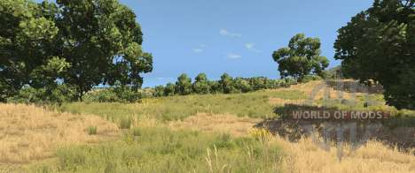 Trees on the Italy map for BeamNG Drive