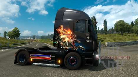 Gamer Paradise skin for Euro Truck Simulator 2
