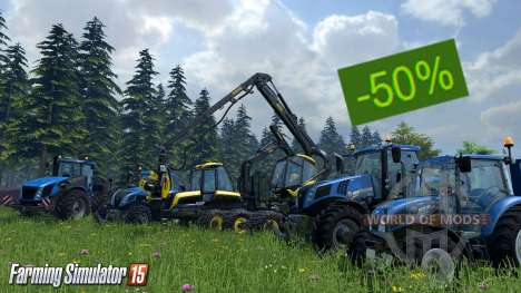Discounts on Farming Simulator 15