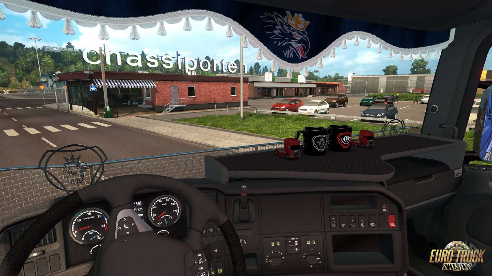 Euro Truck Simulator 2 - Mighty Griffin Tuning Pack Download Free