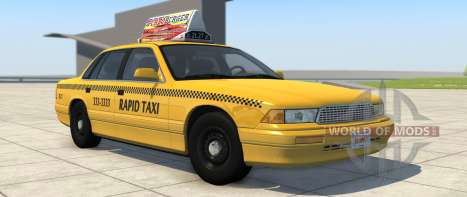 Grand Marshal Taxi variant from BeamNG Drive