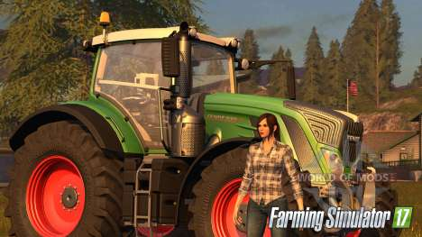 Women in Farming Simulator 2017