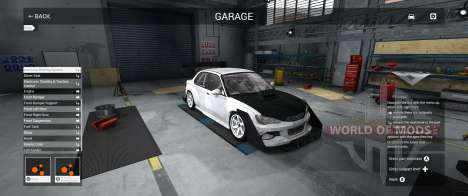 Garage Mode in BeamNG Drive