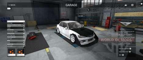Garage Mode in BeamNG Drive