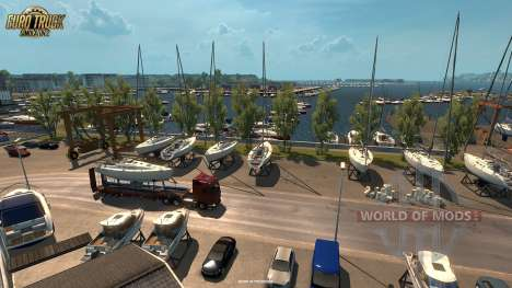 New screenshots of the Vive La France update for Euro Truck Simulator 2