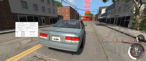 Hotlapping in BeamNG Drive