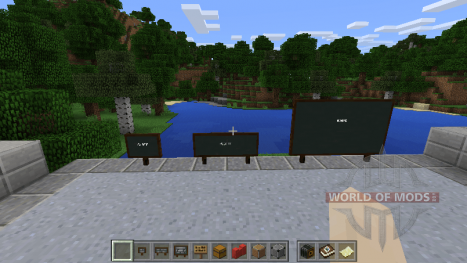 Chalkboards in Minecraft Education Edition