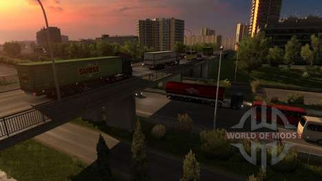 France in Euro Truck Simulator