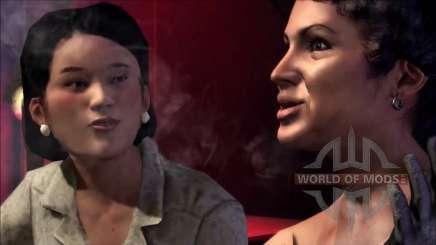 Mrs. Scaletta and Francesca Scaletta in Mafia 2