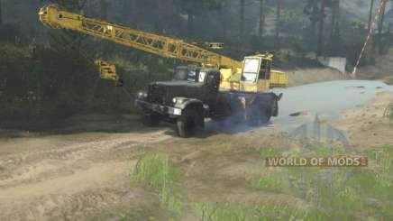 How to operate a crane in Spintires