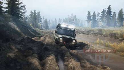 Differences in SpinTires MudRunner