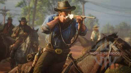 How to find a secret weapon in Red Dead Redemption 2