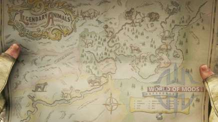 The Map Of Red Dead Redemption 2