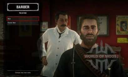 Red Dead Redemption 2: hair and beard
