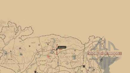 Red Dead Redemption 2: the mysterious hill