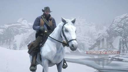 Red Dead Redemption 2: the ending with the horse