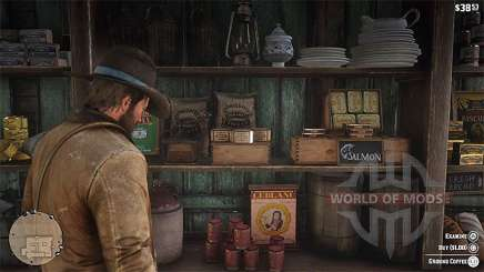 How to make coffee in Red Dead Redemption 2