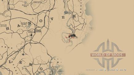 Location of the civil war hat