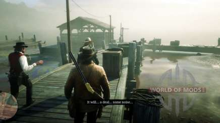 Mission in Red Dead Redemption 2-courtesy call