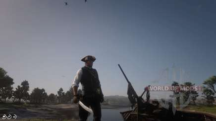 How to become a pirate in RDR 2