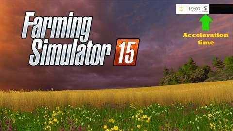 Time acceleration mod for FS 2015