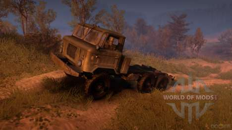 GAZ-34 (6x6) for Spin Tires