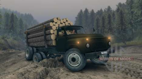 Gaz-52 modified for Spin Tires