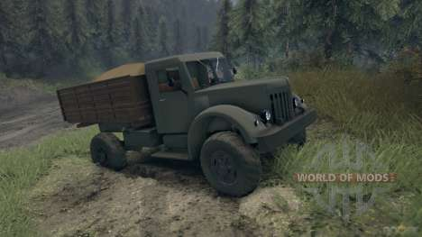 Maz-502 for Spin Tires