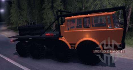 Tatra 813 8x8 TRUCK TRIAL for Spin Tires