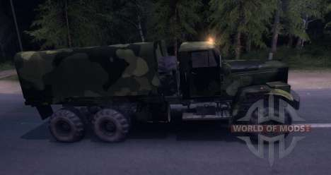 KrAZ Camo for Spin Tires