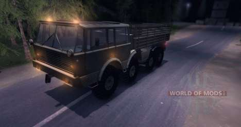 Tatra 813 8x8 for Spin Tires