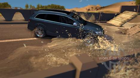 Audi Q7 for Spin Tires