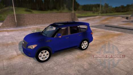 Infinity QX56 for Spin Tires