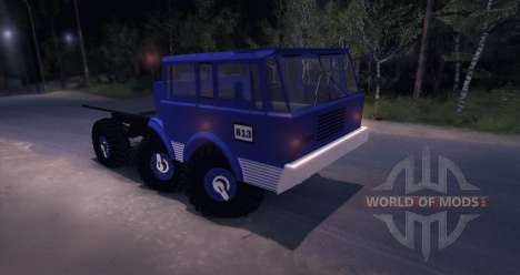 Tatra 813 6X6 TRUCKTRIAL for Spin Tires
