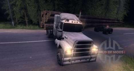 MACK Log Truck for Spin Tires
