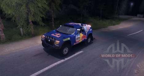 Volkswagen Touareg Dakar Beta for Spin Tires