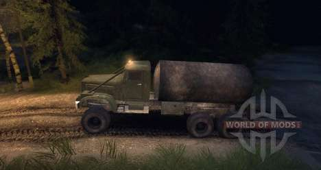 Kraz Truck for Spin Tires