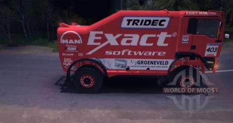 MAN TGA 18.531BB DAKAR for Spin Tires