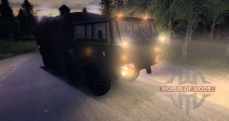 Tatra 813 8 x 8 Final Czech Army for Spin Tires