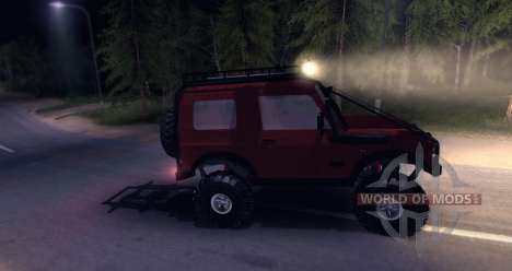 Suzuki Samurai SJ 413 FULL for Spin Tires