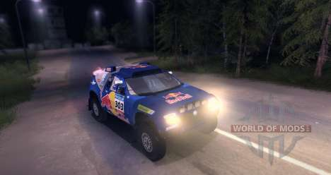 Volkswagen Touareg Dakar Beta for Spin Tires